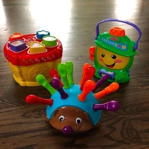 Fisher Price /VTech Baby-Toddler Learning Toys